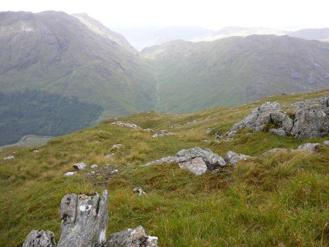 West ridge of Meall an Uillt Chaoil