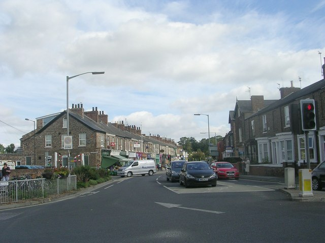 Bishopthorpe Road - viewed from Scarcroft Road