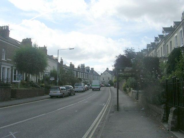 Bishopthorpe Road - viewed from Scarcroft Road