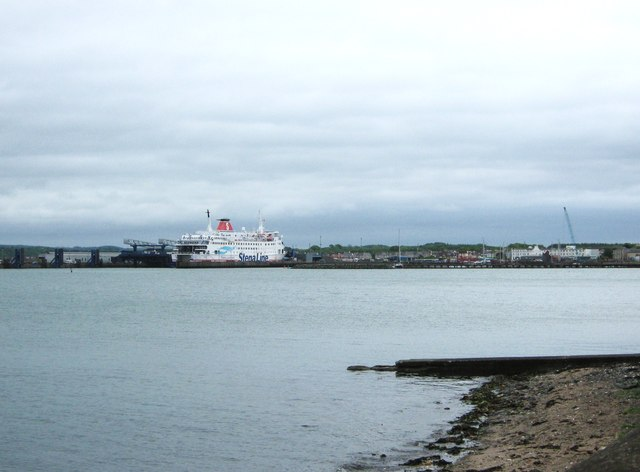 Looking towards the ferry terminal