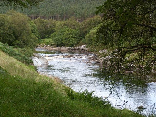 River Carron near Heatherlea