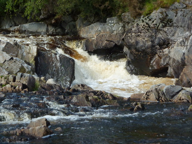 Rapids on the River Carron