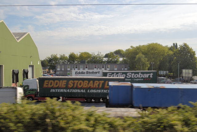 Eddie Stobart depot Warrington