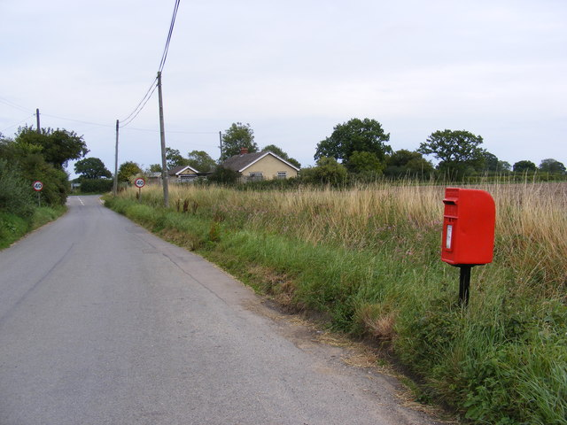 High Street & Royal Oak Postbox