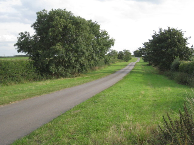 The lane to Melton Ross