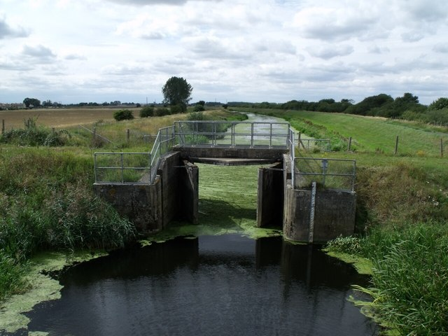 Sluice Gate on Billinghay Skirth