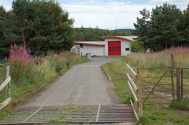Lauder Fire Station