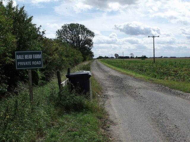Road to Dale Head farm