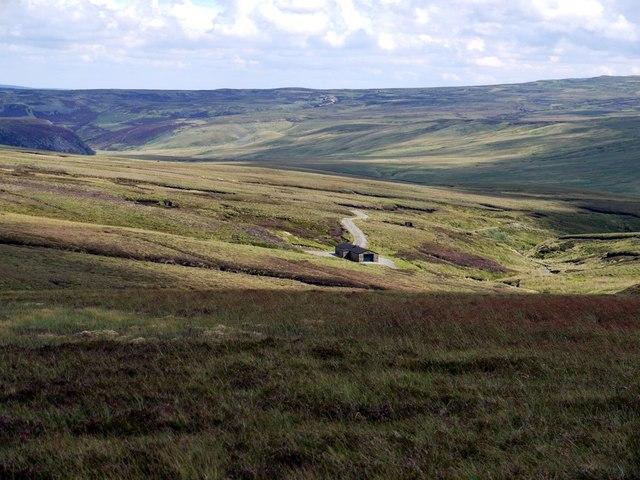 Shooting hut, Grain Beck