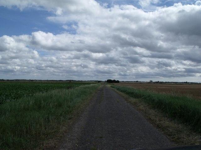 Hurn Drove facing East