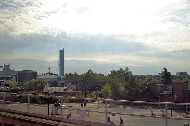 View across towards New Quay street