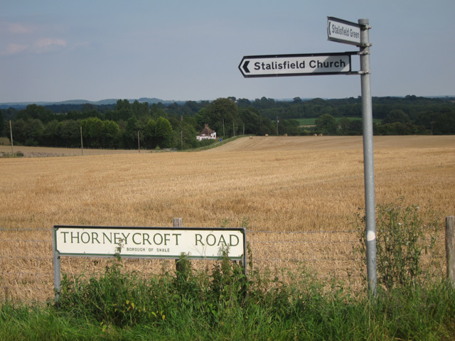 Signs on Thorneycroft Road