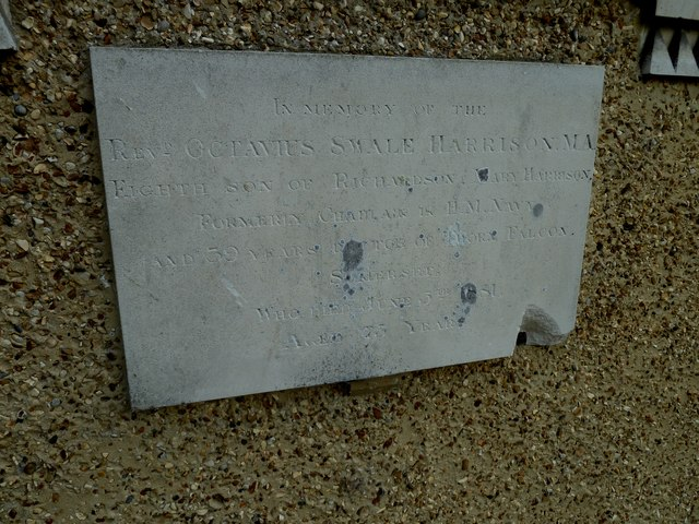 St Andrew, South Warnborough: external memorial (a)