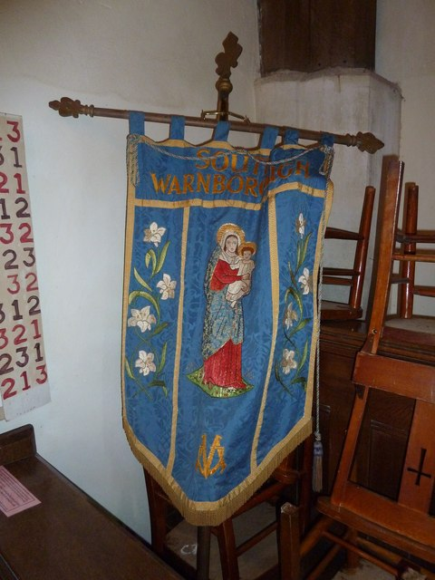 St Andrew, South Warnborough: banner