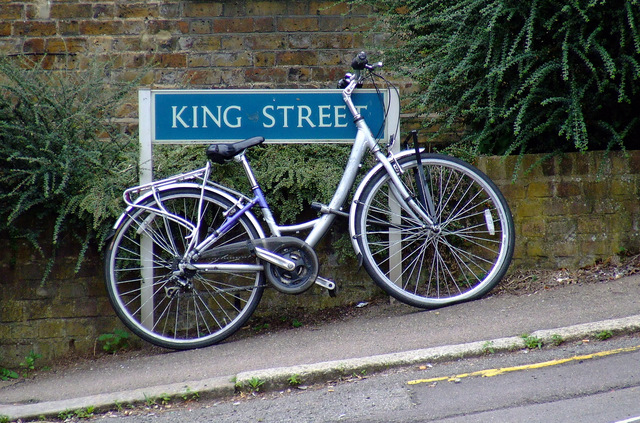 Bike on King Street