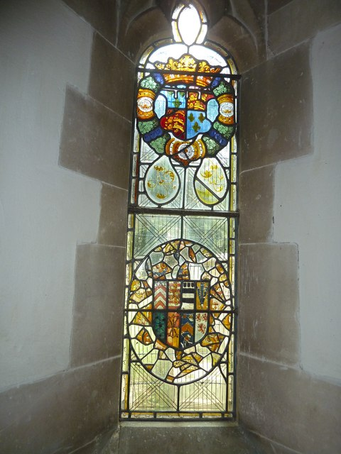 St Andrew, South Warnborough: stained glass window (1)