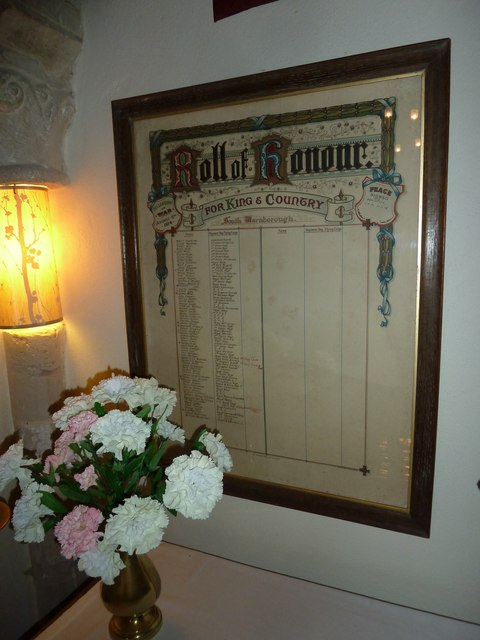 St Andrew, South Warnborough: Roll of Honour