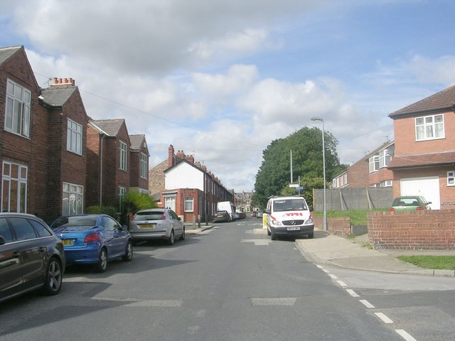 South Bank Avenue - viewed from Nunthorpe Grove
