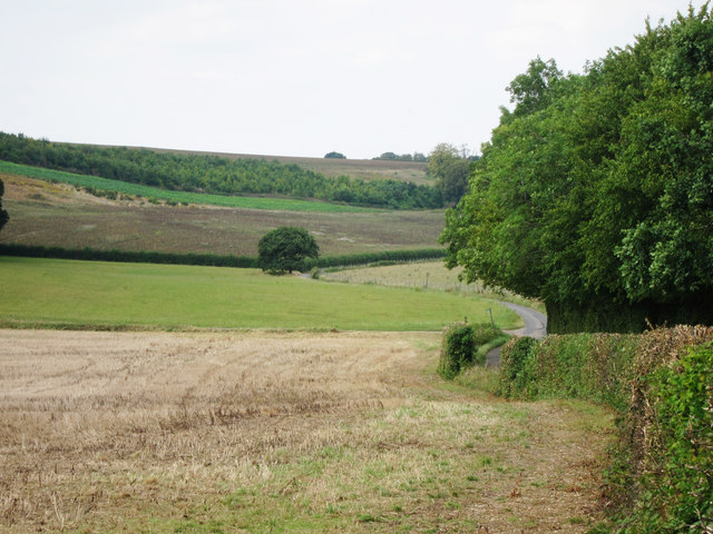 Fields by Church Road