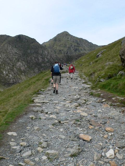 Snowdon ahead!