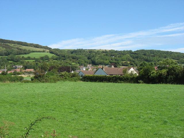 Draycott village