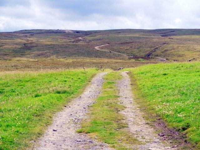 Pennine Way west of Birkdale