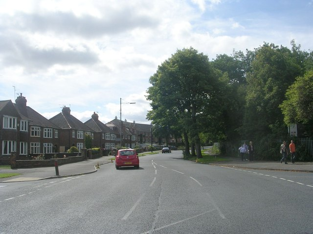 Bishopthorpe Road - viewed from Campleshon Road