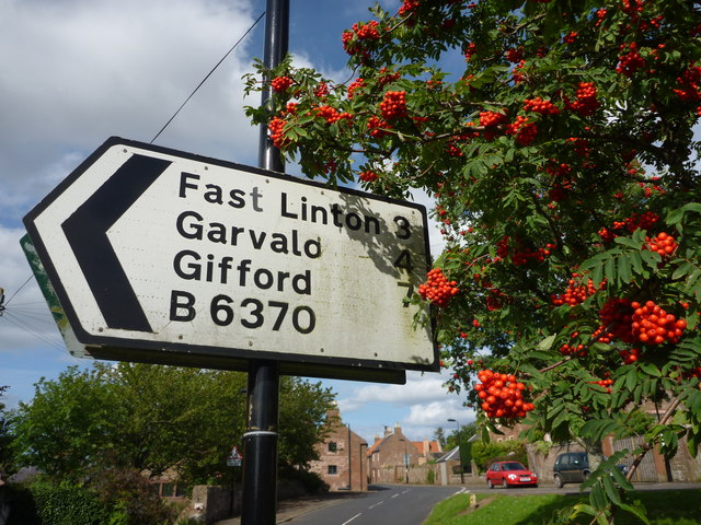 East Lothian Townscape : Stenton Streetscene