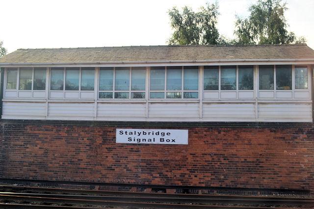 Stalybridge signal box