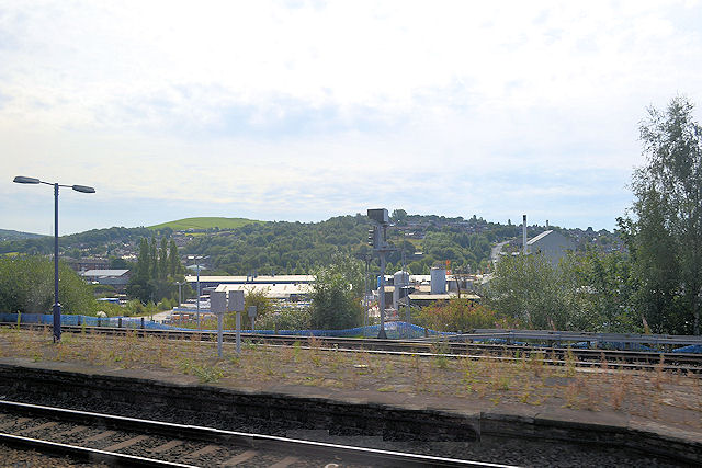 View over Stalybridge from the station