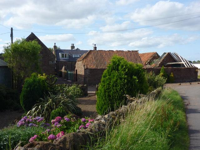 East Lothian Farms : Ruchlaw West Mains, Near Stenton