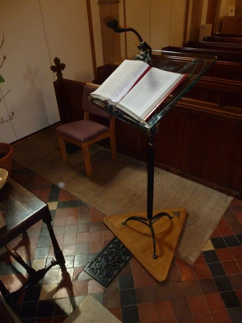 St Andrew, South Warnborough: lectern