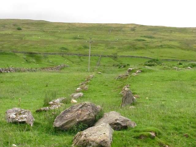 Remains of a dyke, Dall