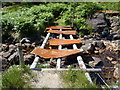 NN1149 : Recycled bridge east of Meall nan Gobhar by Bob Peace