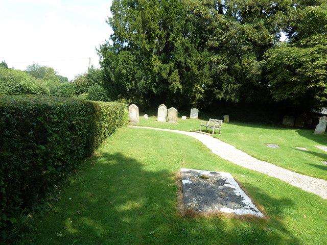 St Lawrence, Weston Patrick: a verdant churchyard