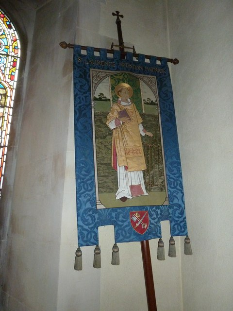 St Lawrence, Weston Patrick: banner (1)