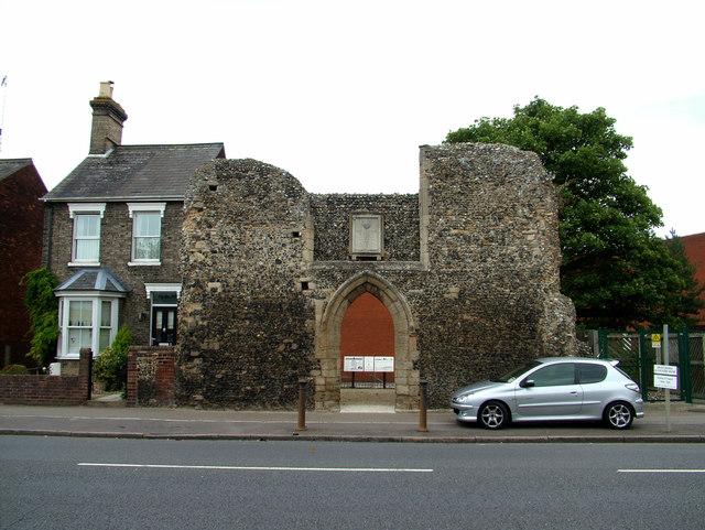 St. Saviour's ruins
