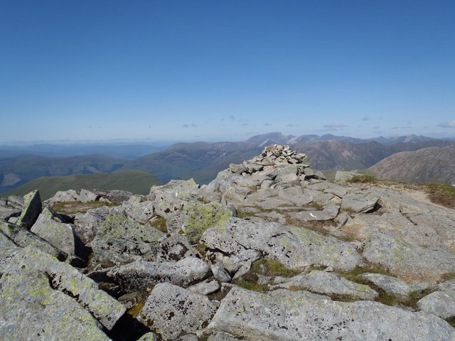 Summit of Sgor na h-Ulaidh