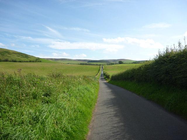 Rural East Lothian : Straight Ahead For Deuchrie Edge