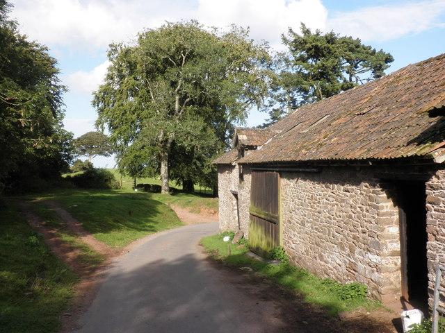 Outbuilding, Cloutsham Farm