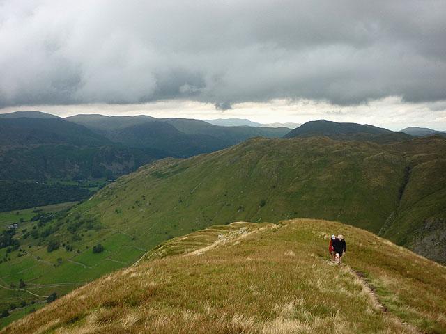 The northern ridge of Gray Crag