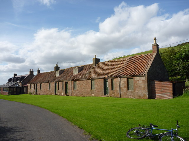 Rural East Lothian : Cottages at Deuchrie, Near Stenton