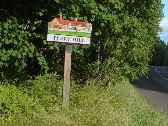 Perry Hill sign