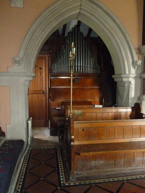 St Lawrence, Weston Patrick: organ