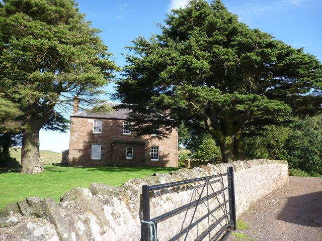 Rural East Lothian : The House At Deuchrie