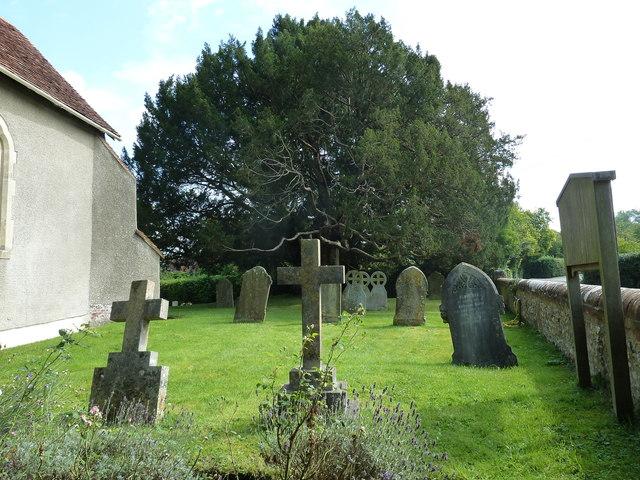 All Saints, Long Sutton: churchyard (1)