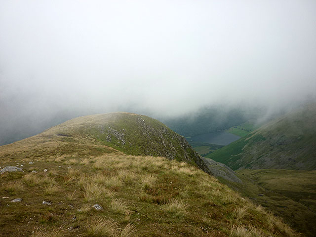 The north west ridge of Caudale Moor