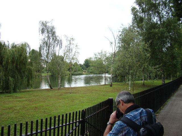 Regent's Park boating lake #3