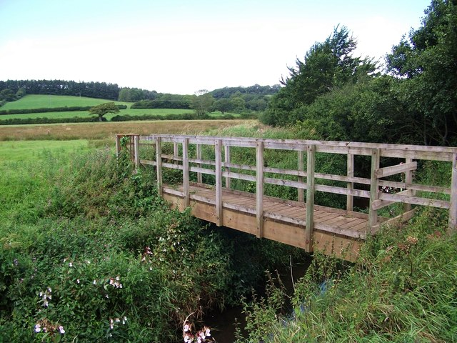 Footbridge over Afon Marlais