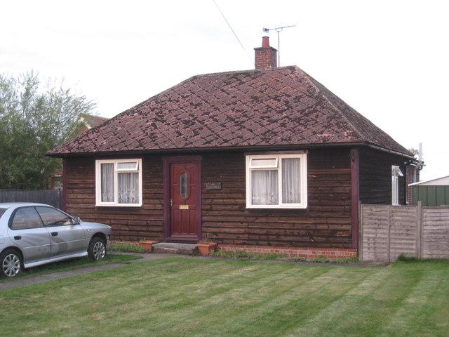 Timber bungalow